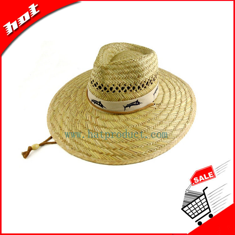 Straw Hat Sun Hat Rush Safari Hat