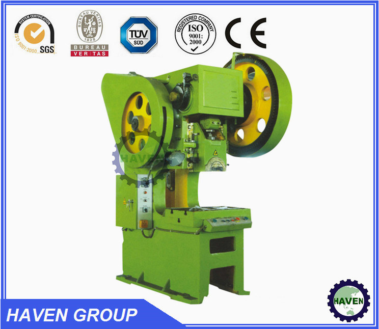 China J23 Series General Open Back Inclinable Press Machine