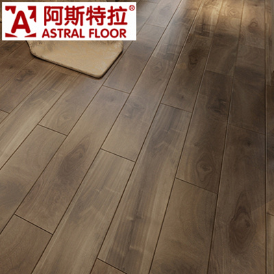 China Water Proof Hdf Crystal Surface Wooden Pattern Laminate