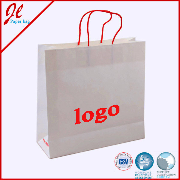 Custom Shopping Paper Bags with Logo