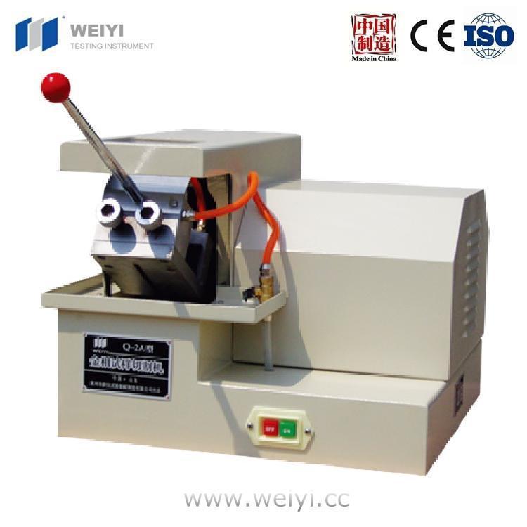 China Q-2A Metallography Sample Cutting Machine Diamond Cutting ...
