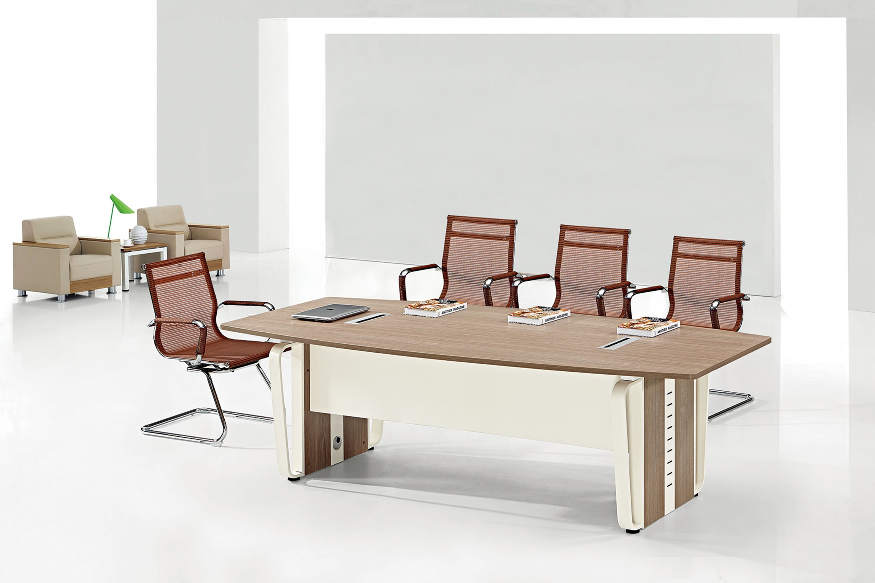 China Affordable Comfortable Modern Style Reception Melamine - Affordable conference table