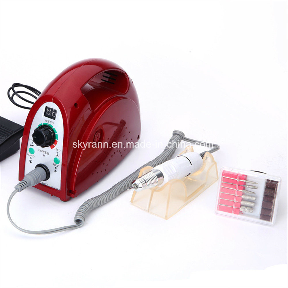 China 35000rpm Electric Nail Polisher Nail Art Drill for Manicure ...