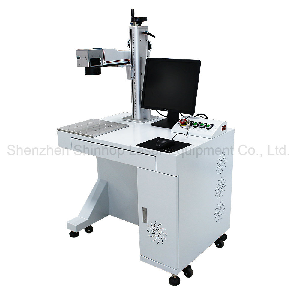 Portable Mopa Metal Fiber CO2 Laser Wood Engraving Marking Machine