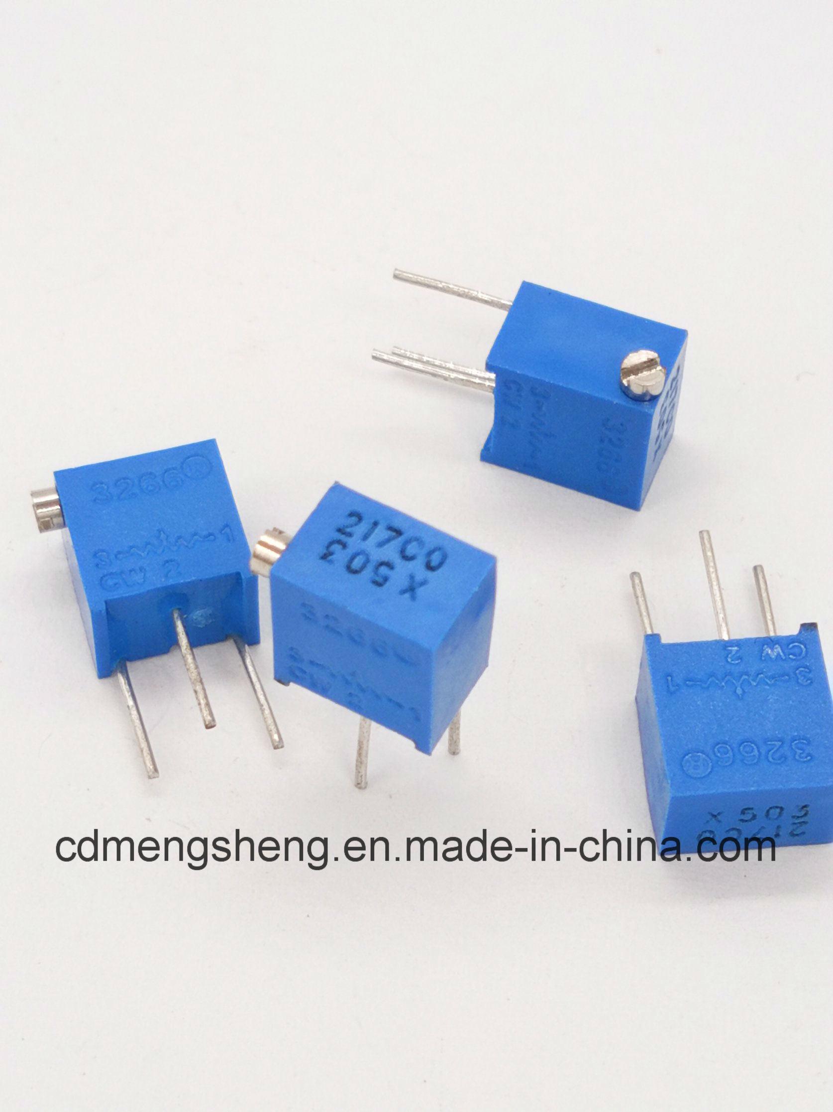 China Variable Resistor Trimming Potentiometer Trimpot Circuit Inresistor