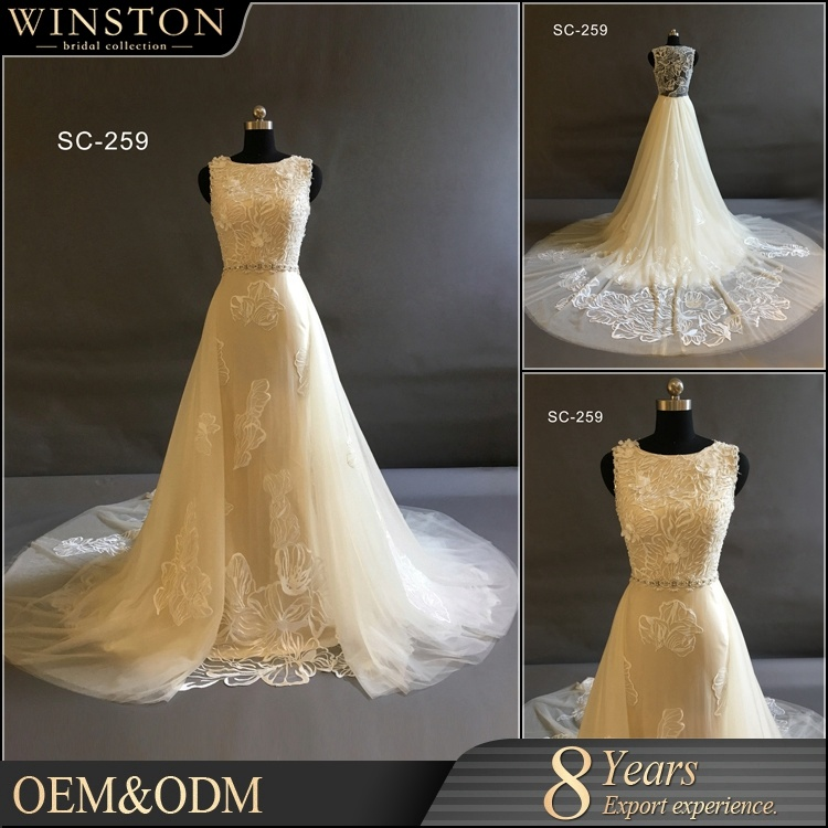 China Bride Use and OEM Service Supply Type Custom Made Wedding Gown ...