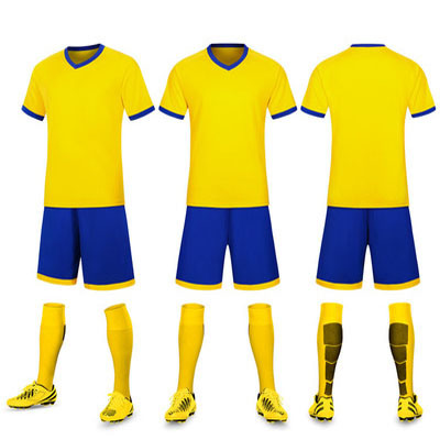 huge selection of 8d03e 22429 [Hot Item] Cheap Soccer Jerseys Football Kits 100% Polyester Plain Soccer  Kits