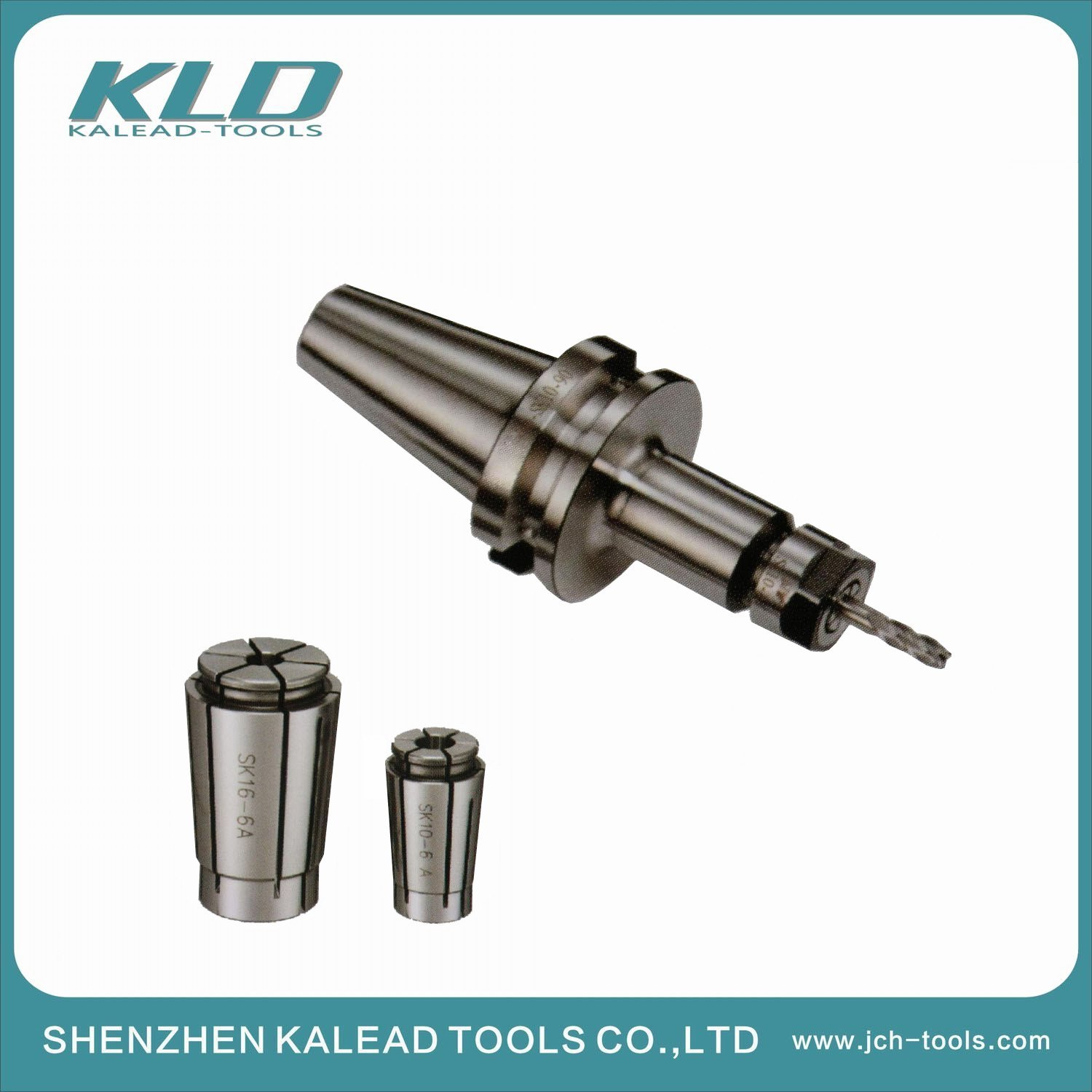 China Bt Milling Toolholder With Collet Chuck For Cnc Machine Tool