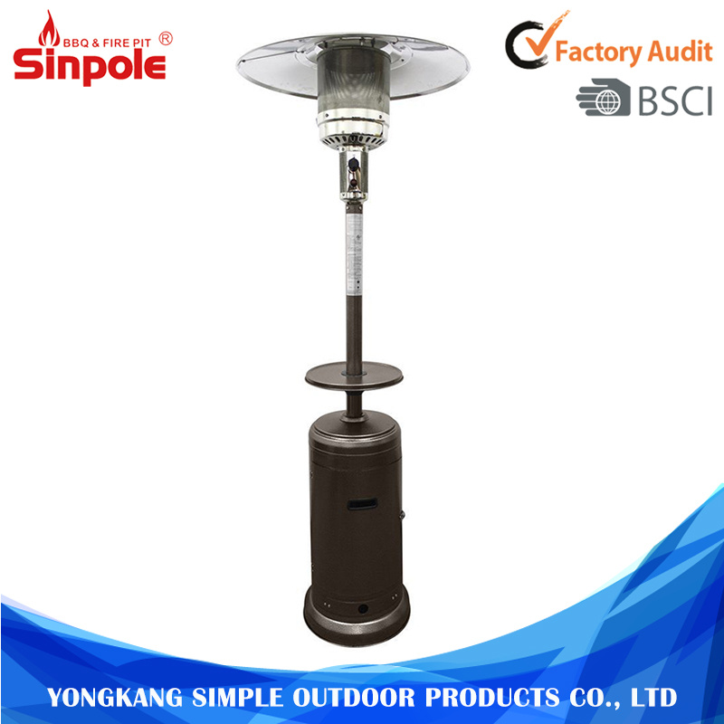 China Top Quality Outdoor Stainless Steel Gas Patio Heaters With Ce Heater Propane