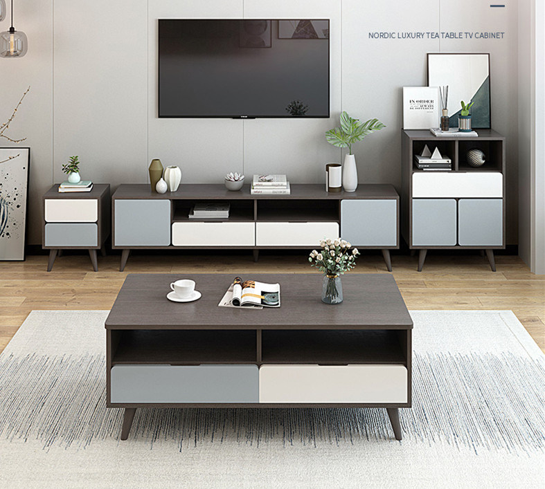 China Tv Cabinet Coffee Table Set Nordic Bedroom Tv Cabinet Master Bedroom Modern Simple Living Room Tv Cabinet China Wooden Tv Stand Tv Stand Furniture