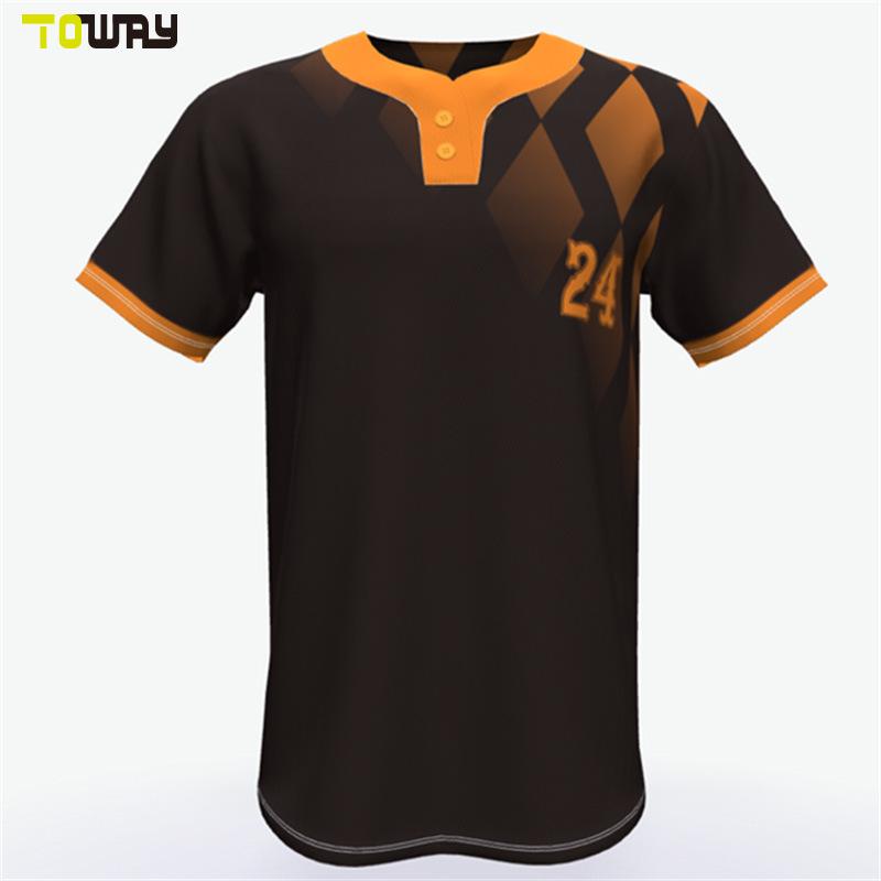 68f86d94 China Custom Mens Sublimated Black Baseball Jerseys - China Baseball Jerseys,  Baseball Uniforms