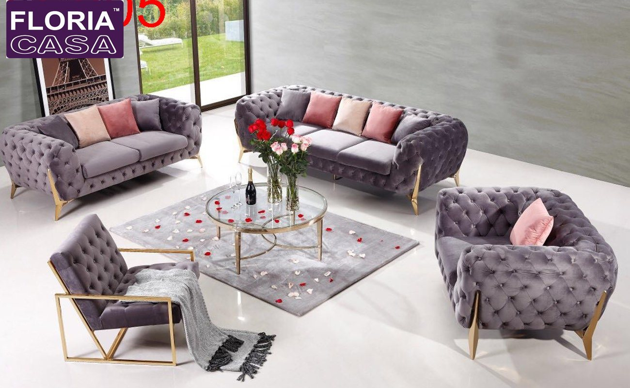 Hot Item European Style On Drawing Room Sofa