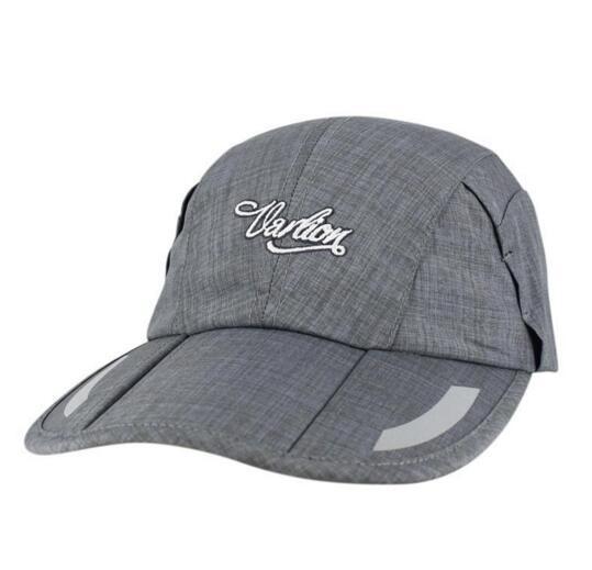 30976a4766adc4 Summer Folding Baseball Cap Men and Women Outdoor Sports Sun Visor Cotton Travel  Cap