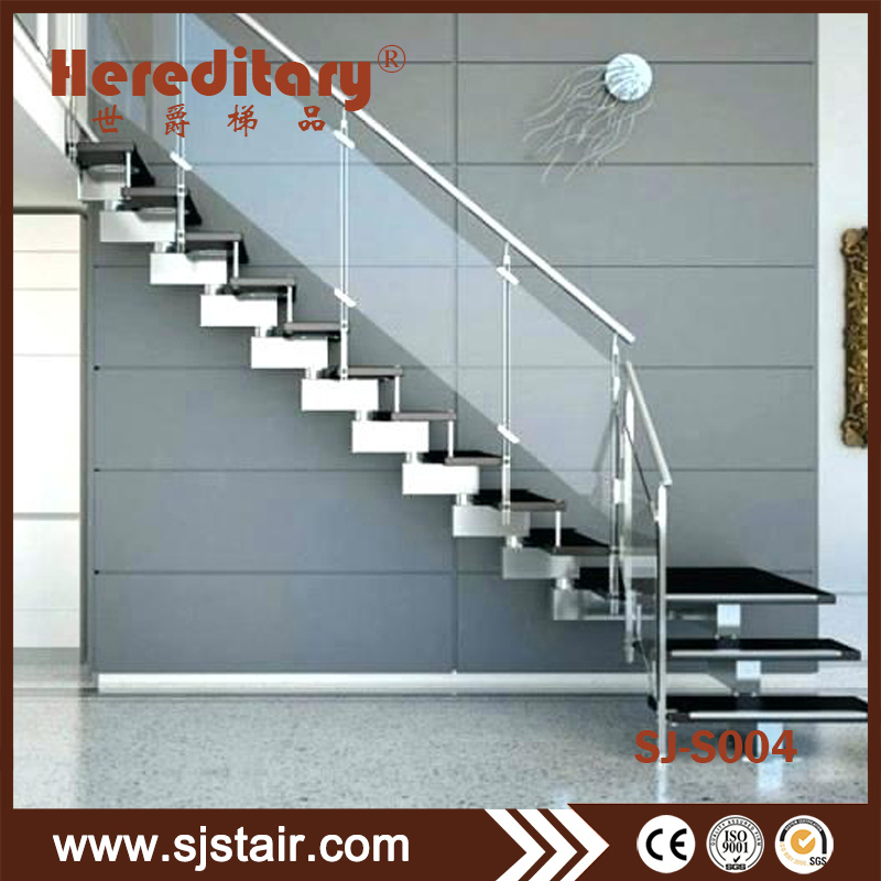 China Modern Indoor Stainless Steel Temper Gl Railing Straight Staircase Fibergl Helical