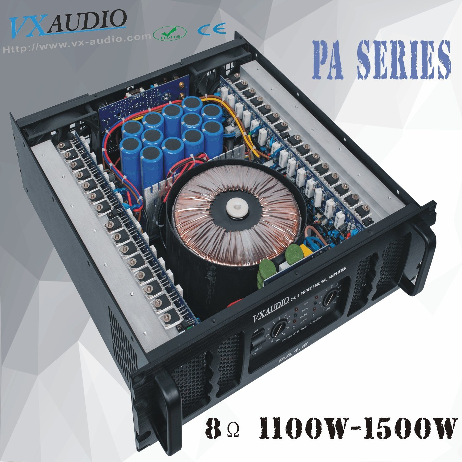 China High Quality Stable Good Power Amplifier Pa18 Short Circuit Protecting A Class Ab Electrical Engineering