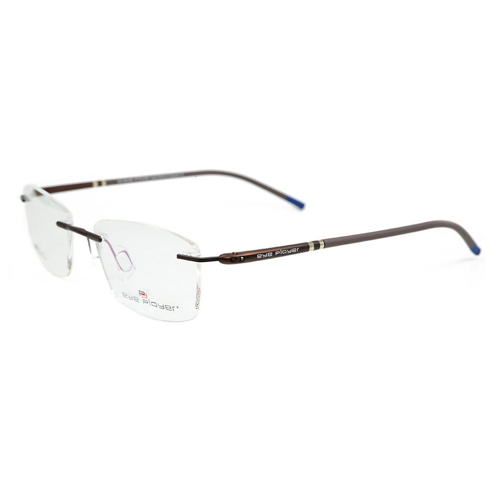 1b2512b7c71 China Best Colorful Eyewear Fashion High Quality Glasses Super Light Metal Rimless  Optical Eyeglass Frames - China Eyeglasses