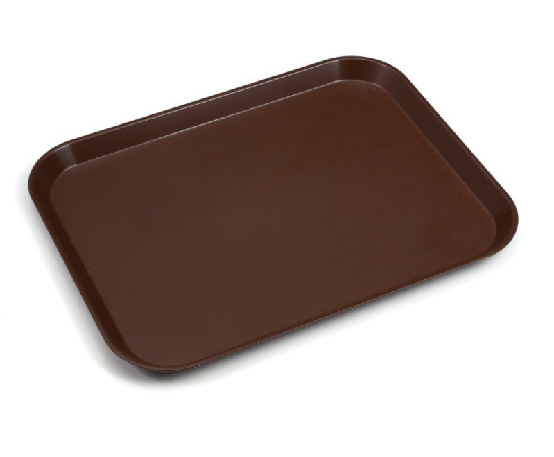 Heavy Duty Big Brown Plastic Tray Jx300