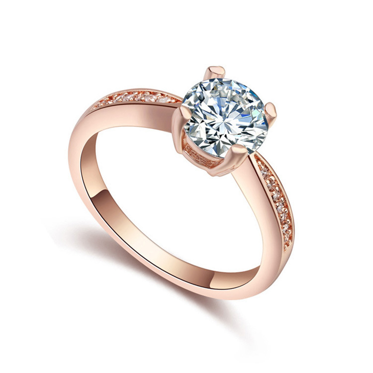 China Diamond Wholesale Gold Finger Ring Rings Design for Women with ...