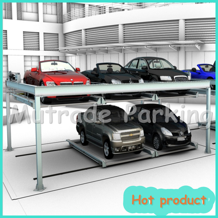 2 Floor Lifting and Sliding Car Elevator (BDP-2) pictures & photos