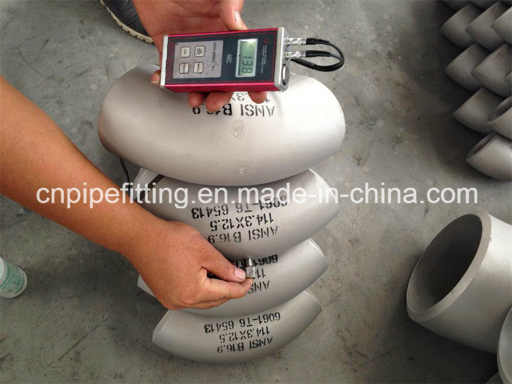 Aluminum Pipe Fittings Elbow, 6061 T6 Elbow, Ship Building Material
