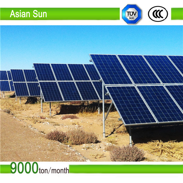 Flat Rooftop Solar Panel Mounting/Ballasted Solar Racks/PV Panel Mounting System pictures & photos