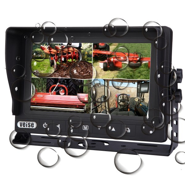 Waterproof Quad Monitor Camera Systems