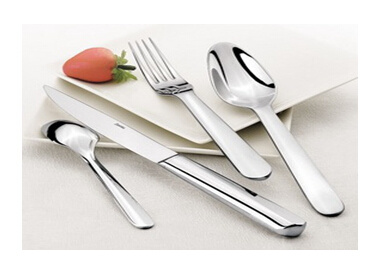 Silver Stainless Steel Fork Knife Spoon Cutlery Sets (LV9002)