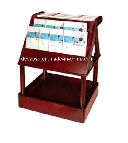 China Luxury Newspaper And Magazine Rack Dm22 China Newspaer Rack Magazine Rack