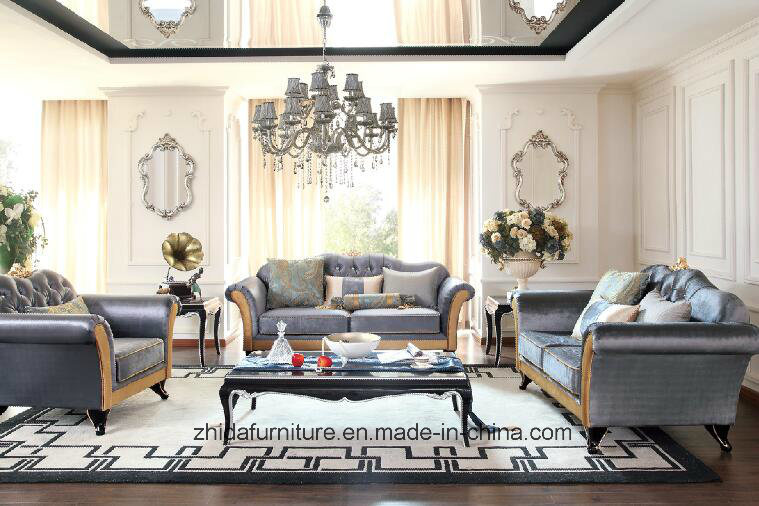 Hot Item Modern Fabric Living Room Furniture Sectional Sofa