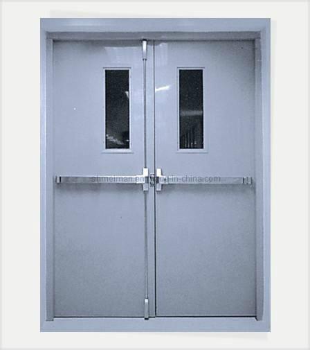 Reinforced Plate Fireproof Steel Door & China Reinforced Plate Fireproof Steel Door - China Fire Resistant ...