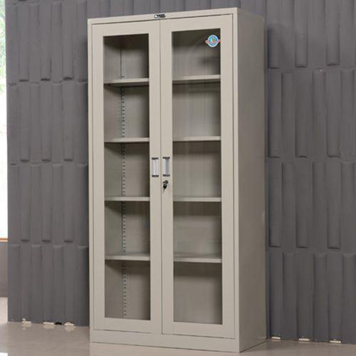 2 Door 5 Layers Office Furniture Steel Swing Door Filing Cabinet/Bookcase/ Bookshelf/Shelf