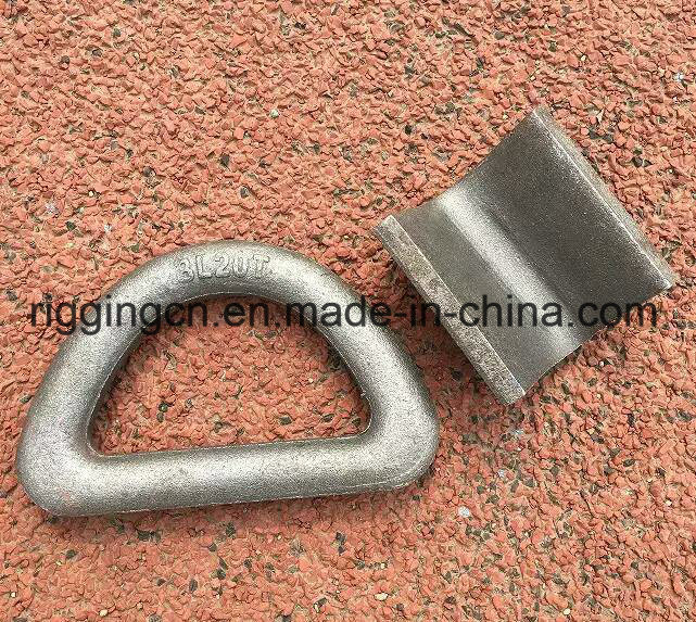 Forged D Lifting Ring with Welding Plate pictures & photos