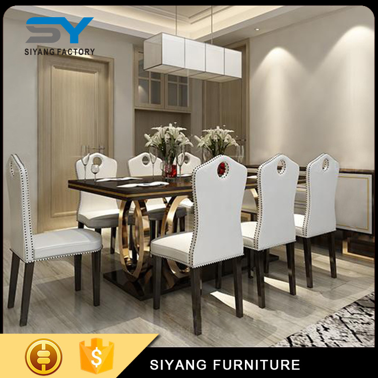 China WPC Furnture Modern 8 Seat Dining Room Set Dining ...
