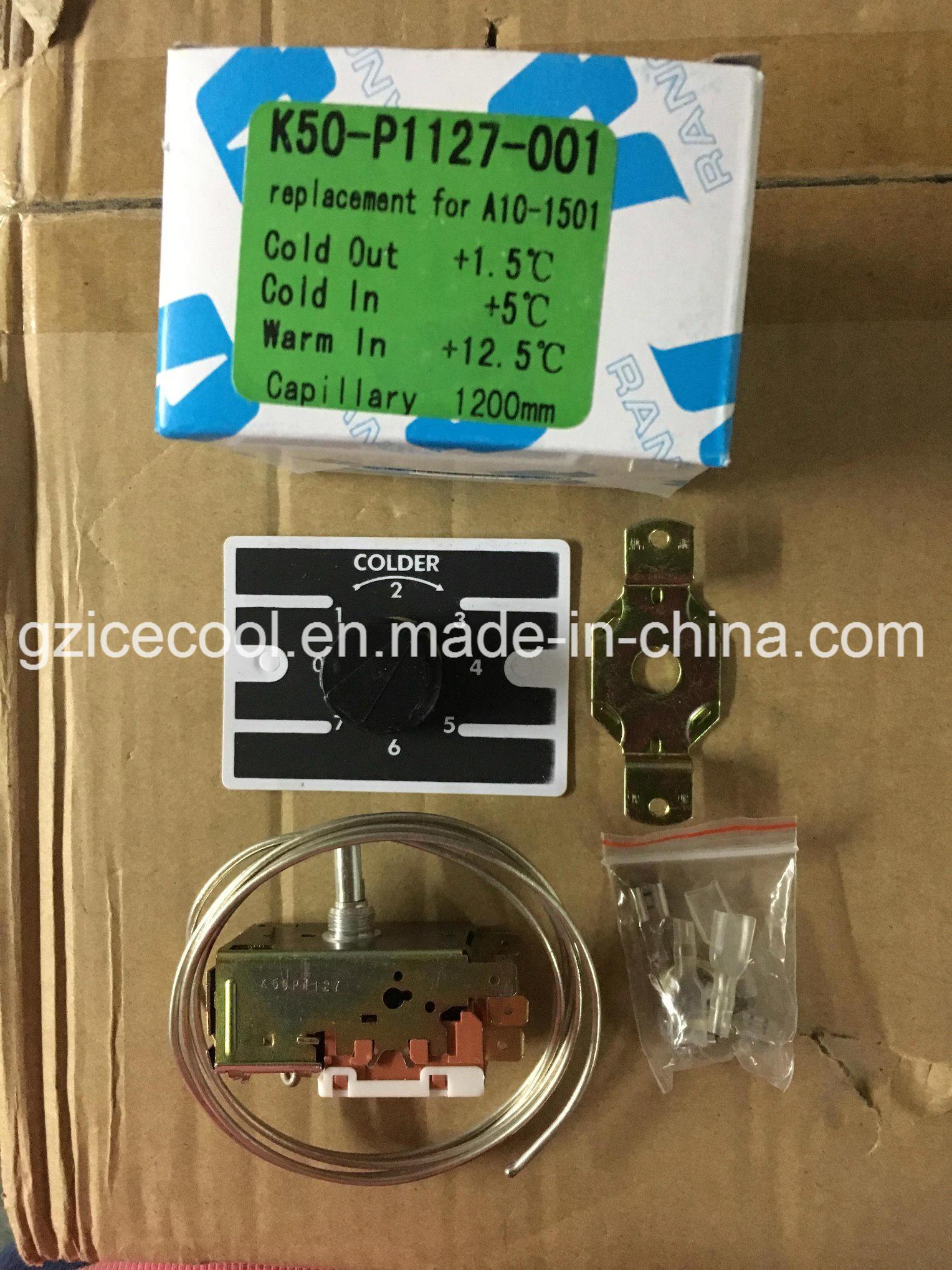 Ranco Manual Thermostat Wiring Diagram on