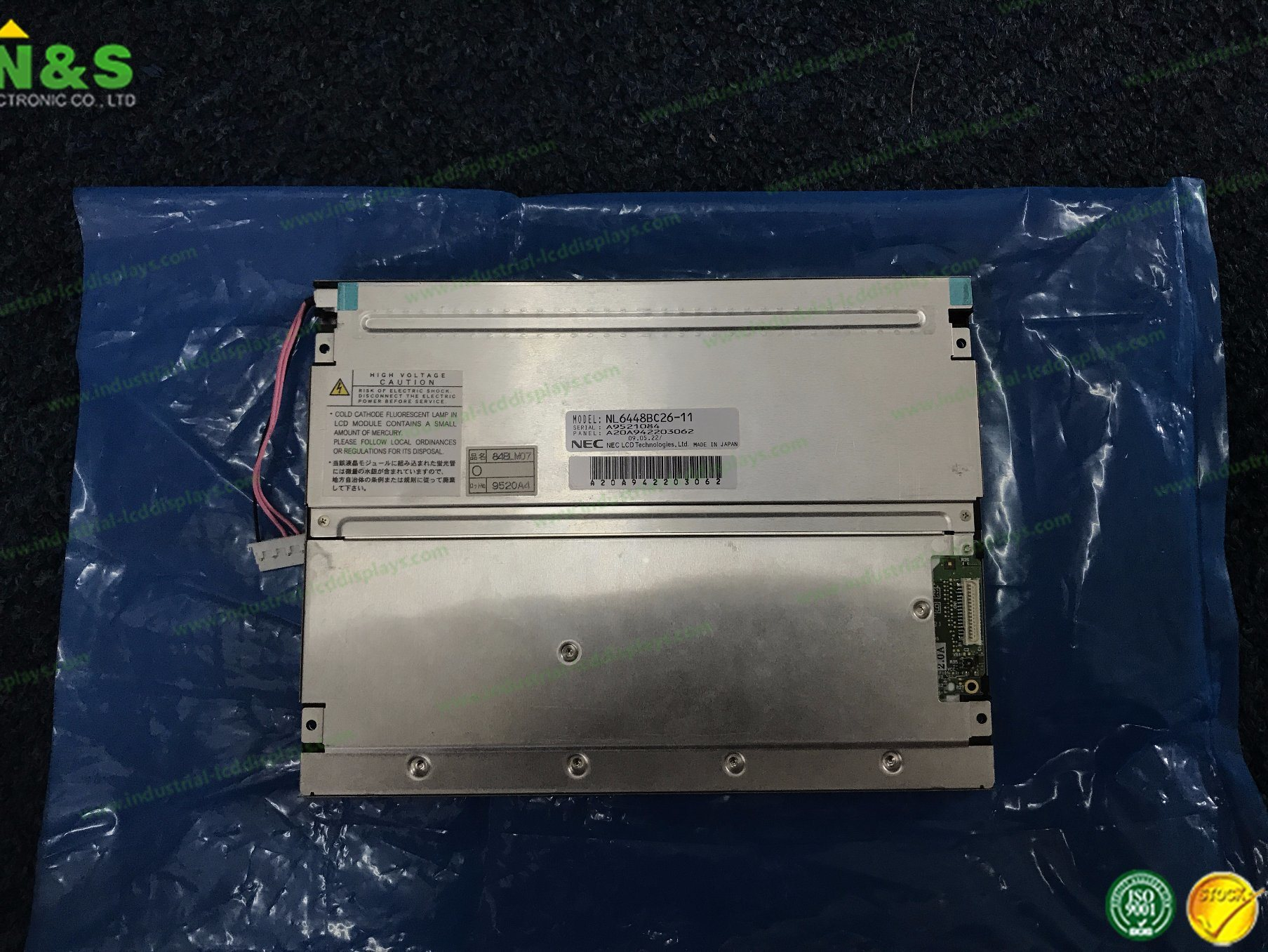 Nl6448bc26-11 8.4 Inch LCD Screen for Injection Industrial Machine pictures & photos