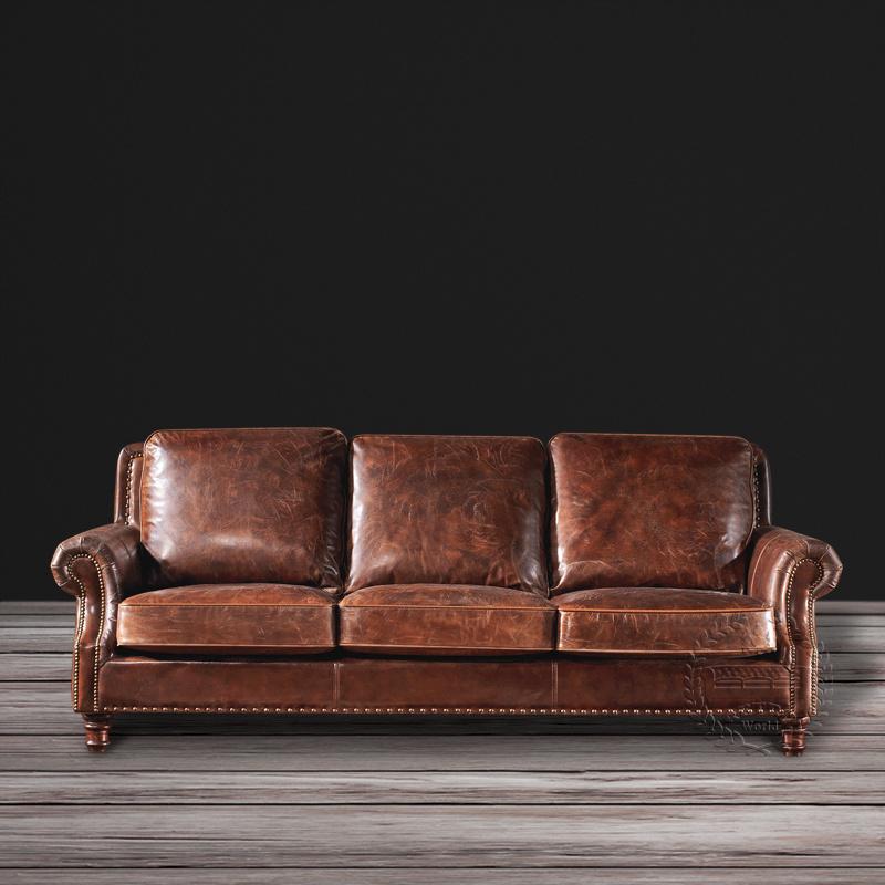 Sensational Hot Item 2016 Classic European Style Imported Genuine Leather Vintage Sofa Set Lamtechconsult Wood Chair Design Ideas Lamtechconsultcom