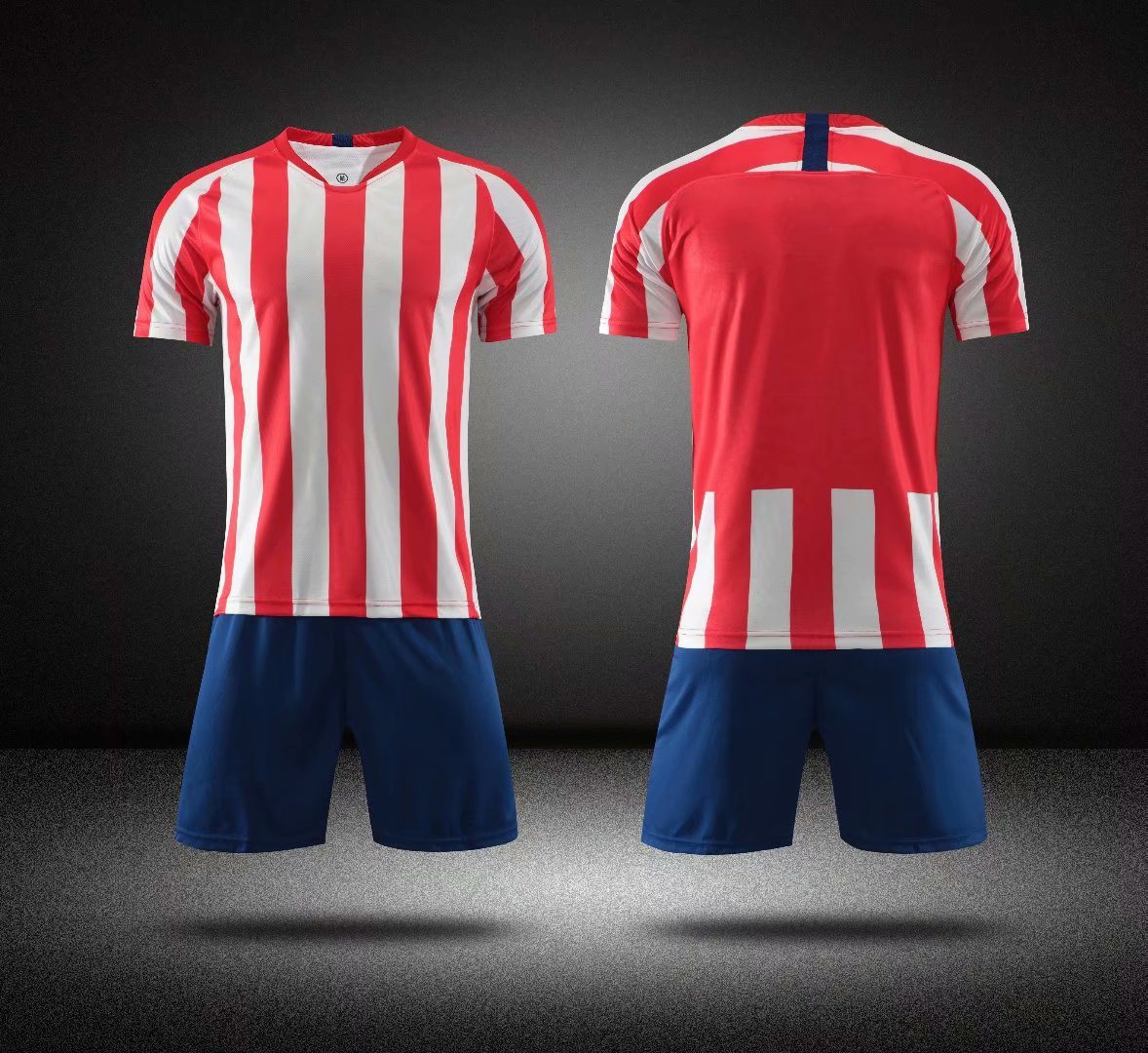 China 2019 2020 Atletico Madrid Home Red White Soccer Wear Women Jerseys China Soccer Jersey And Soccer Wear Price