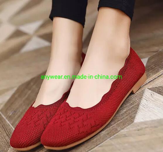 China New Fashion Comfort Flat Girl