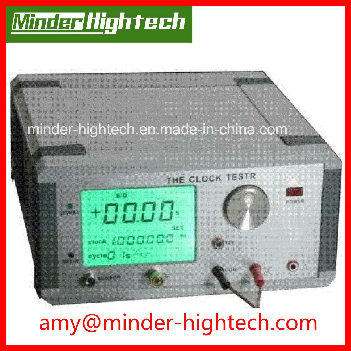 China Md 8b Clock Tester For Precisely Testing Circuits With Images Crystal Oscillator Working At 32768khz And 1hz