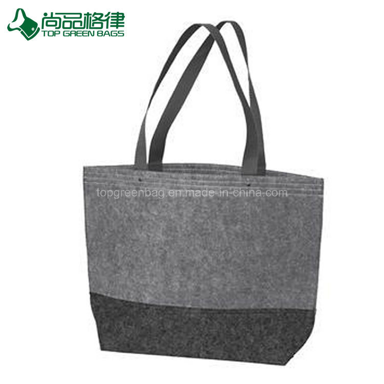c6e41f0f7a93 Trendy Fashion Easy-to-Decorate Felt Shopping Handbag Wholesale Tote Bags