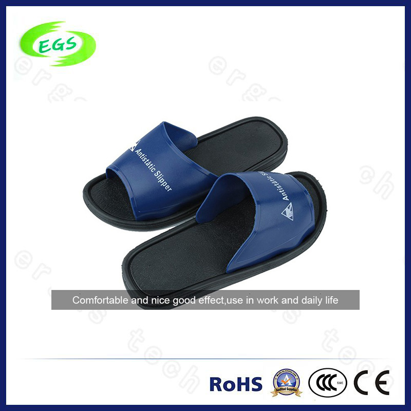 80aa1936ccdf China Black Cleanroom Antistatic ESD Spu Safety Slippers - China ESD Shoes