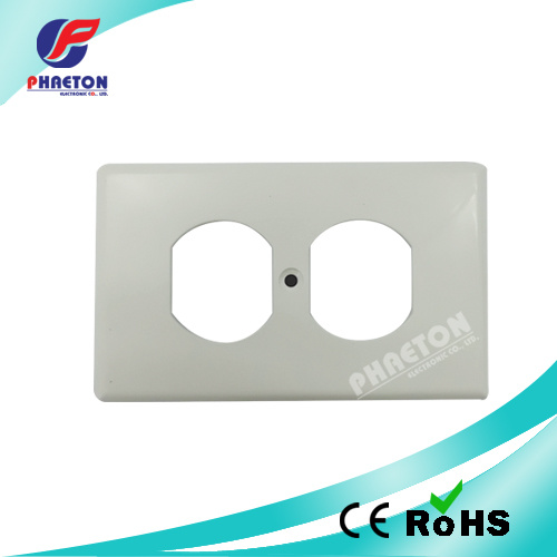 China Safety Plug Socket Coversled Wall Plate Duplex Faceplate