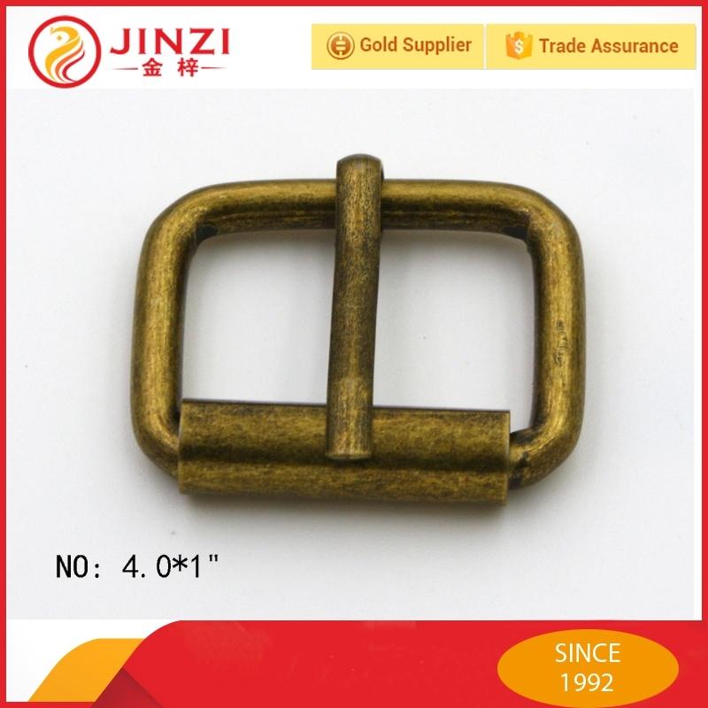 CHOOSE YOUR SIZE 10 PRESSED STEEL ANTIQUE BRONZE ROLLER BUCKLES