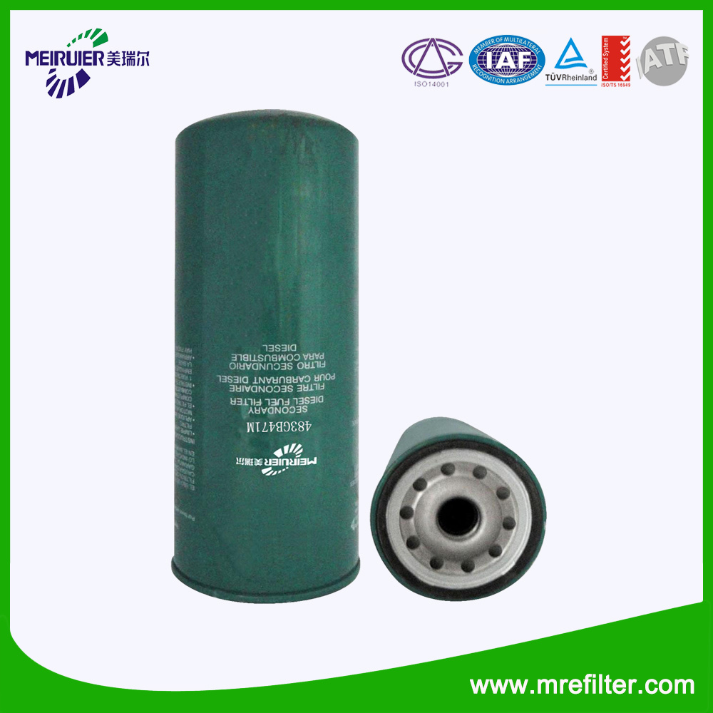 China Auto Parts Diesel Fuel Filter Application For Trucks Engine Filters 483gb471m Lube