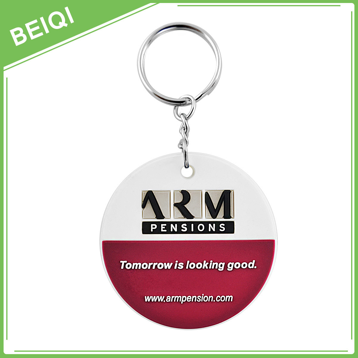 3D Custom Rubber Promotion Soft PVC Keychain