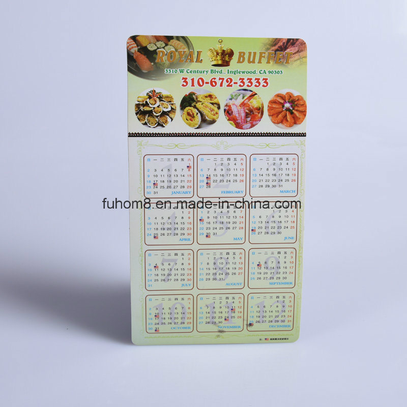 Custom Promotional Calendar Refrigerator Fridge Magnet pictures & photos