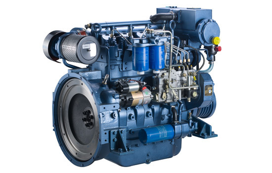 Weichai Wp4 Series (WP4C82-15) Marine Diesel Engine for Ship (60-103kW) pictures & photos