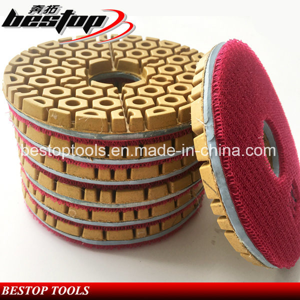 100# Red Diamond Polishing Pad with Thickness 10mm