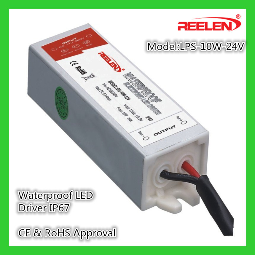 china 24v 0 42a 10w waterproof ip67 constant voltage led powerchina 24v 0 42a 10w waterproof ip67 constant voltage led power supply lps 10 24 china led driver, led power supply