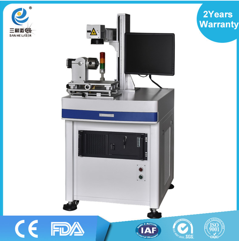 Fiber Laser Marking Machine Engraver Metal Laser Marking Machine Manufacturers pictures & photos